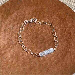 Jewelry - Genuine Aquamarine Bracelet.